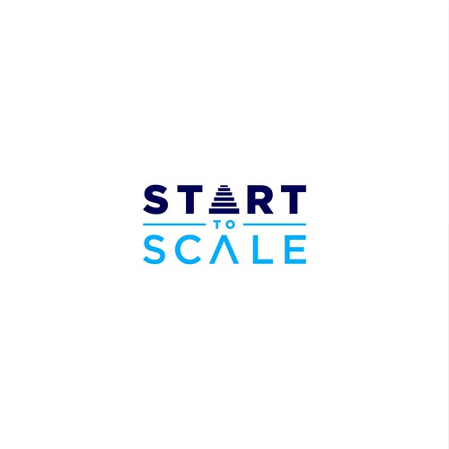 Start To Scale Logo Design