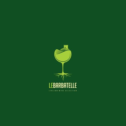 Wine distributor logo