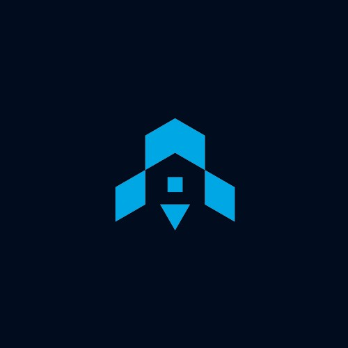 Rocket + House Logo concept for ELEVATE
