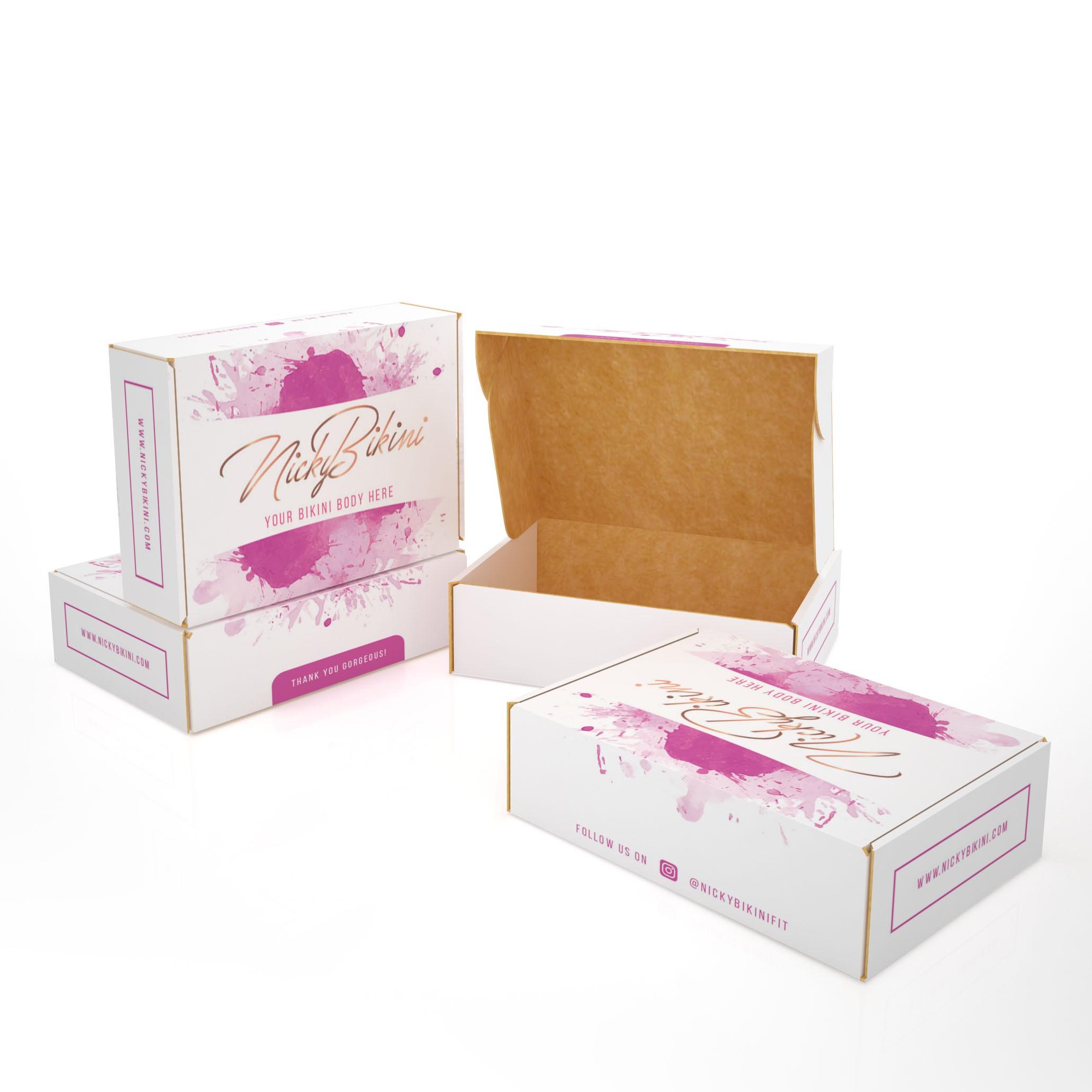 E-Commerce Packaging for Swimwear Brand