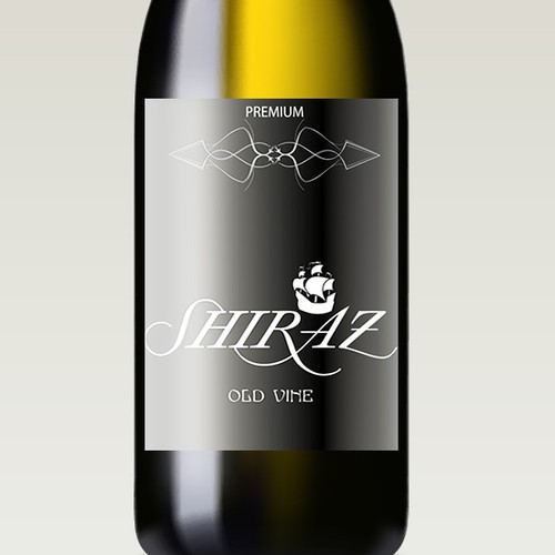 Create an iconic wine label for Select Liquor