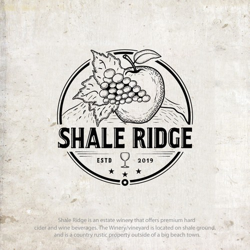 Design a Logo for a Country Rustic Modern Cidery/Winery