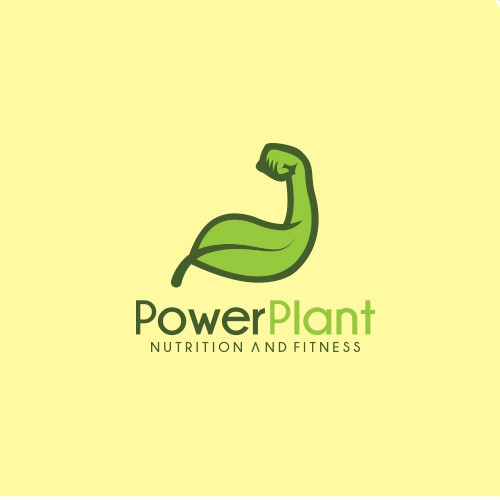 Bold and creative logo concept for nutrition and fitness company