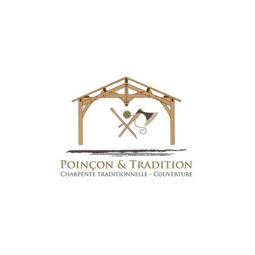 Bold logo for Poinçon & Tradition