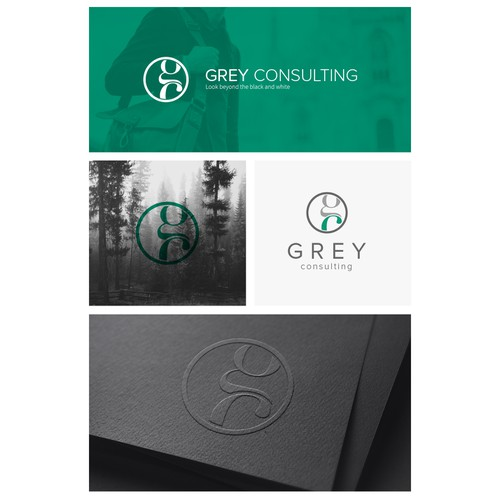 Elegant Logo for Grey Consulting