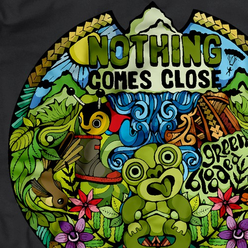 T-shirt Design for Kiwi Experience New Zealand