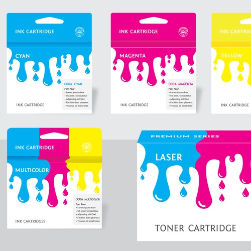 Packaging Design for Ink and Toner Cartridges