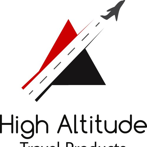 Make a logo for High Altitude Travel Products