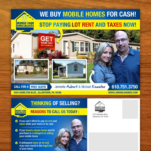 Mobile Loan Specialists needs a new postcard, flyer or print