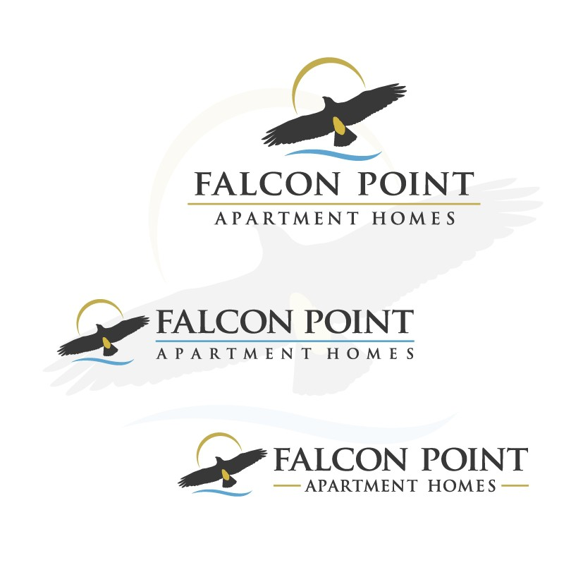 Create the next logo for Falcon Point Apartment Homes