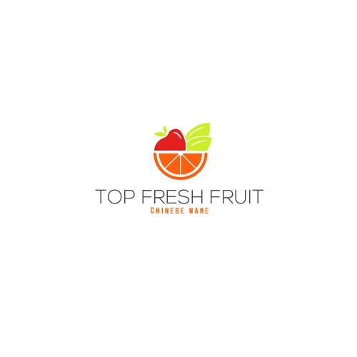 Fruitful and fresh logo