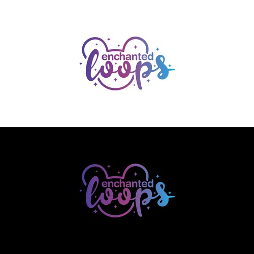 enchanted loops — Magical Logo Design to attract Disney Lovers on Instagram