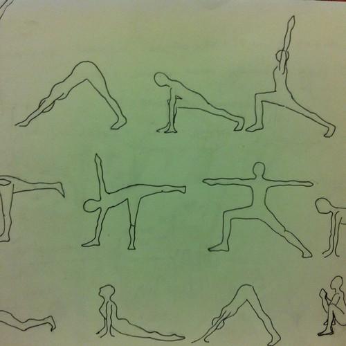 yoga asana sequence