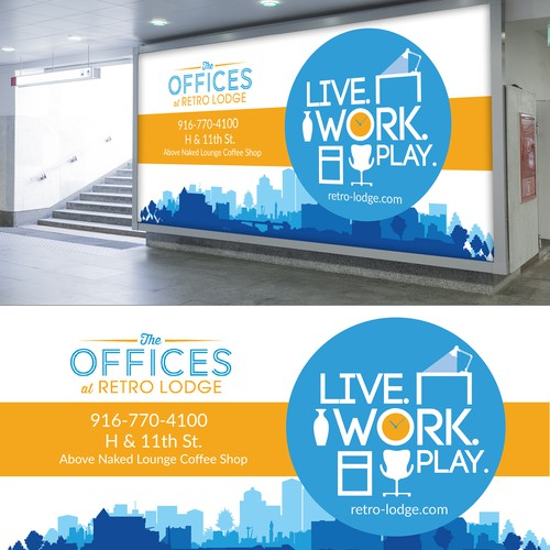 Billboard for Creative Office Suites
