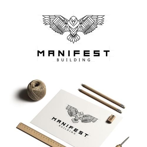 Logo design for building company