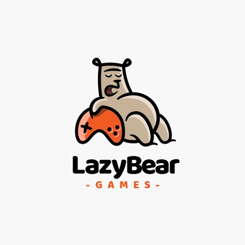 Cartoon Logo for an indie game developer company