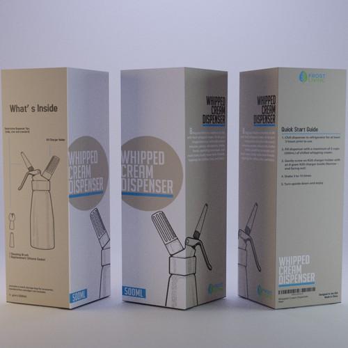 Packaging Design Whipped Cream Dispenser