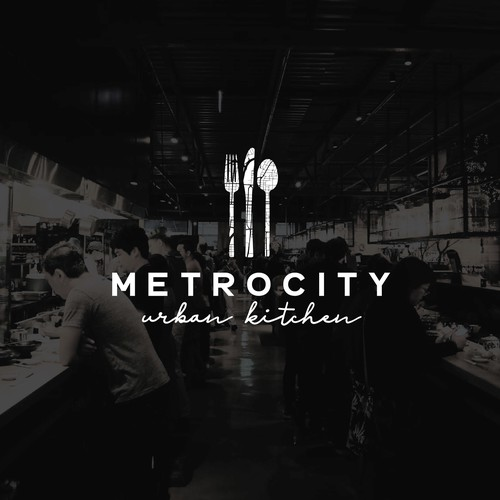 Logo Concept for Metrocity Urban Kitchen