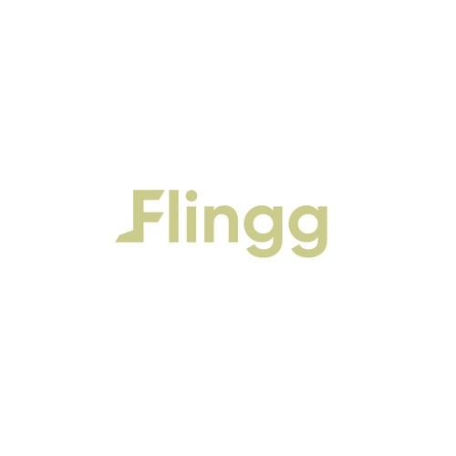 Clean Modern Logo for Flingg