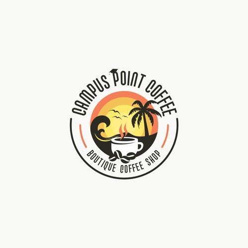 Design a rad logo for a Coffee Shop