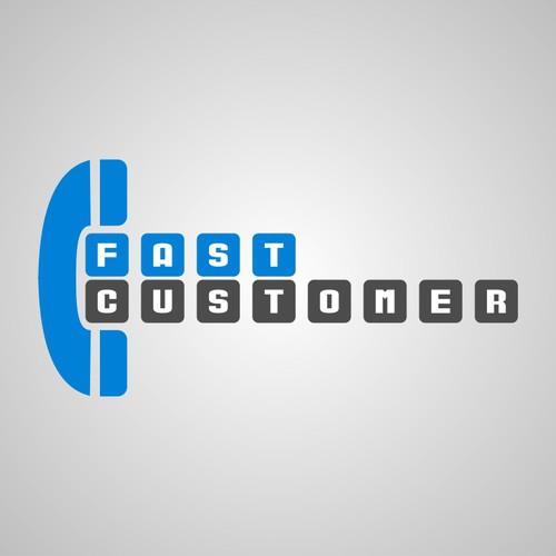 FastCustomer needs a new Logo Design