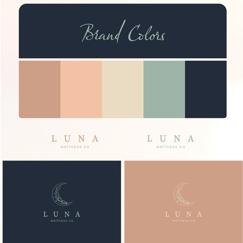 Logo and style guide for Luna