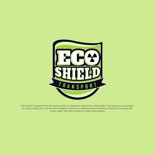 Powerful logo for Hazardous Waste Transportation Company