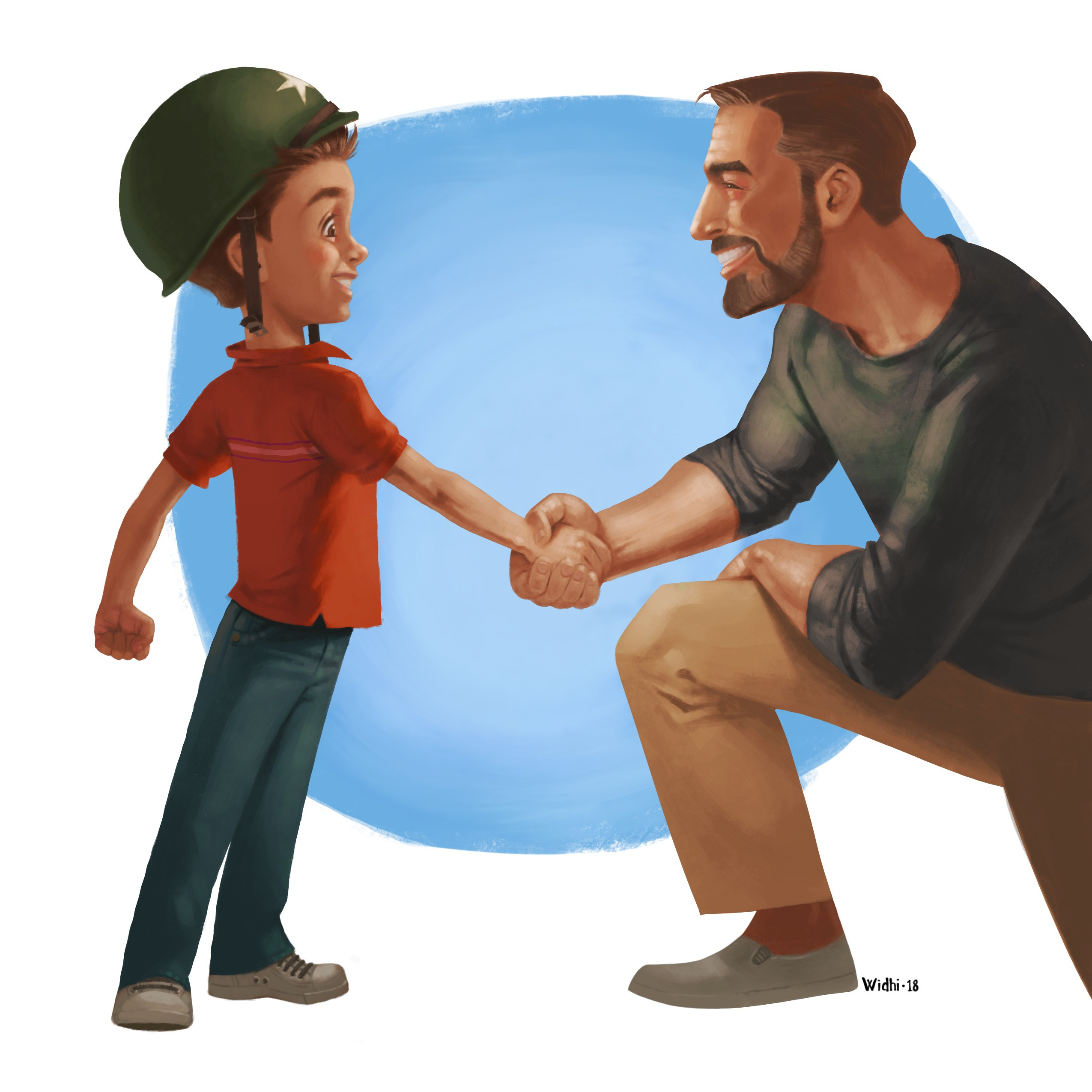 Create awesome children's book illustrations, with follow-on contract for the rest!