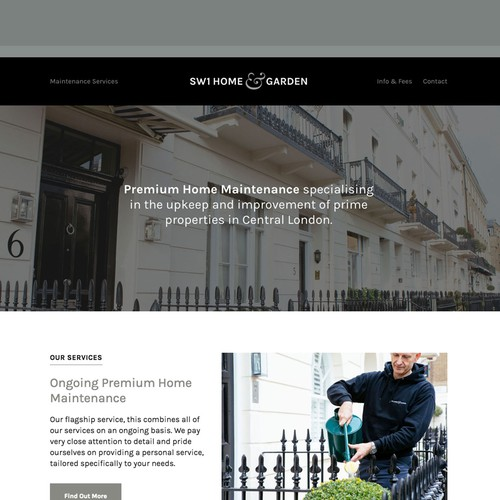 Branding & website for a premium property maintenance company