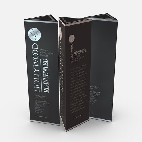 Hollywood Skin Box Packaging