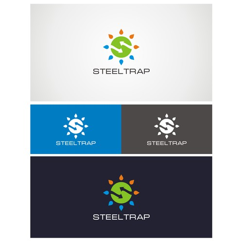 Fun logo for STEELTRAP