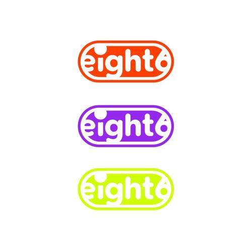 eight6 logo design