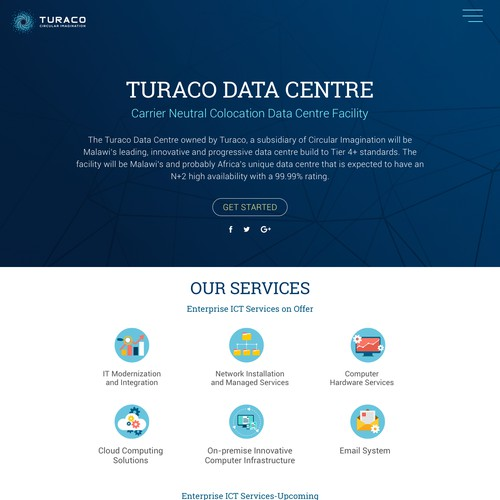 Web Page Design for TURACO