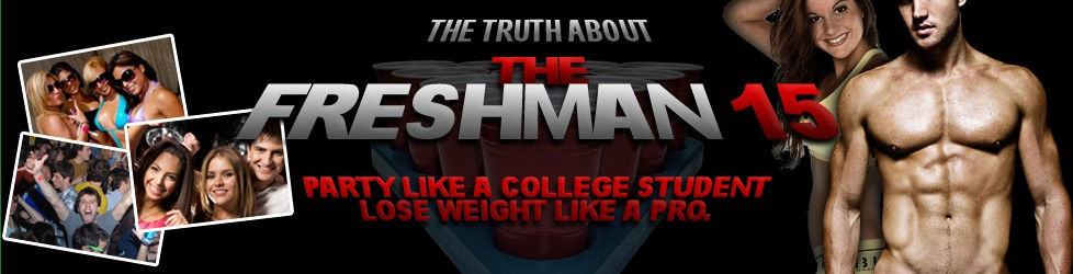 design for Truth About Freshman 15