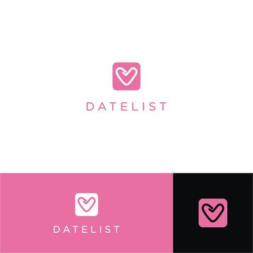 modern logo for datelist