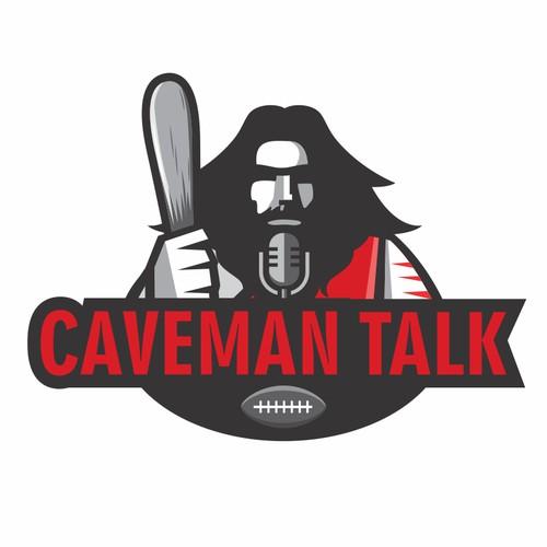 Logo Design for Caveman Talk Podcast