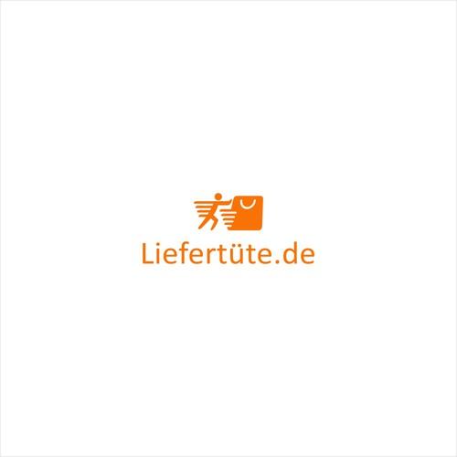 Logo for delivering paper bag company