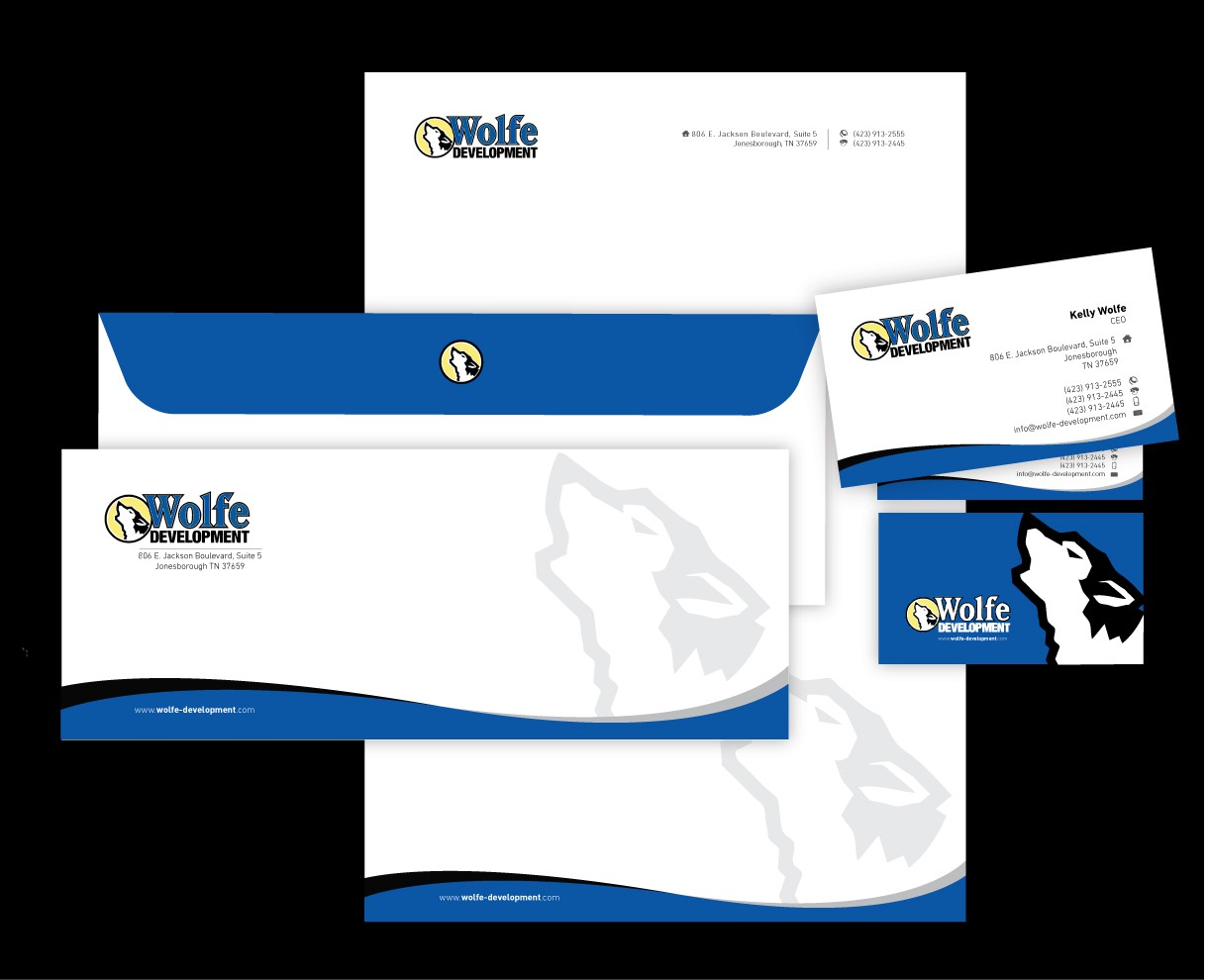 Help Wolfe Development with a new stationery