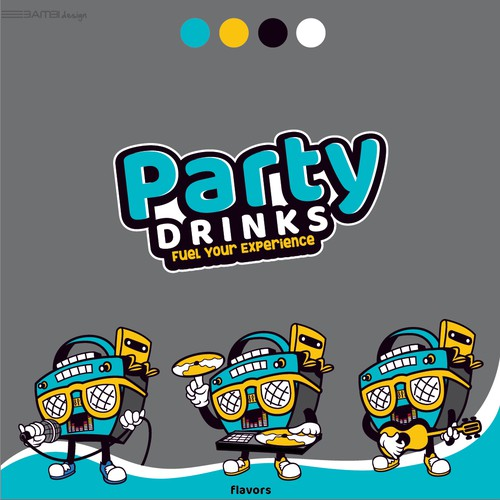 Drink logo plus package design