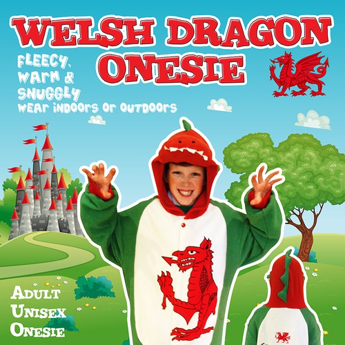 Welsh Dragon Onesie