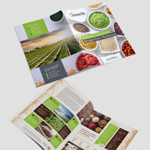 Brochure concept  - 7seeds