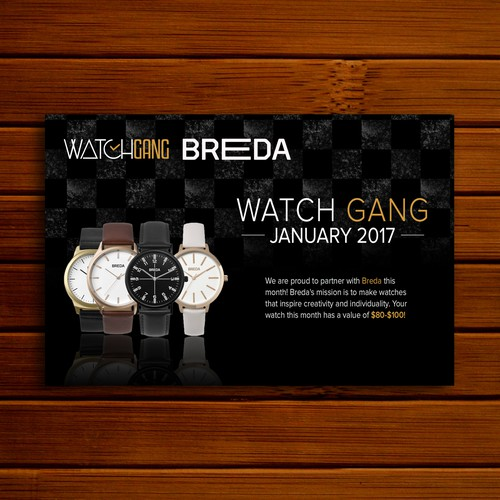 Post for Watch Company