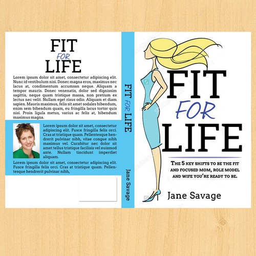 Cover Book for Fit for Life - Jane Savage
