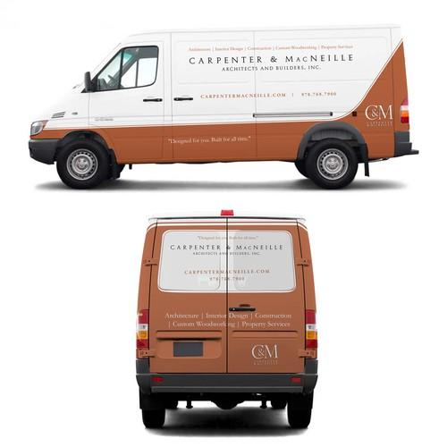 Van wrap for C&M carpentry