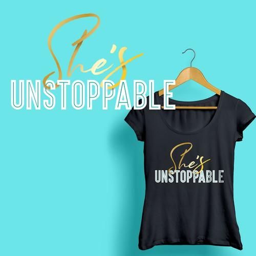 Unstoppable T-Shirt Design
