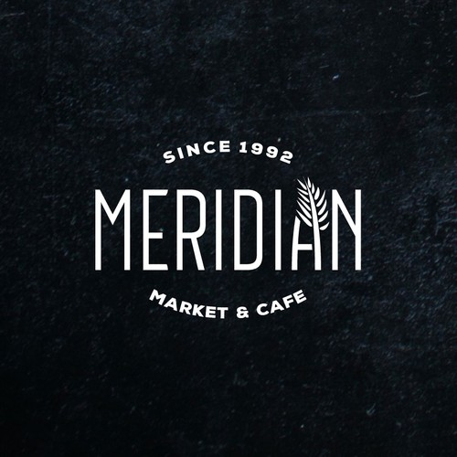 Simple Classic Logo for Meridian Market