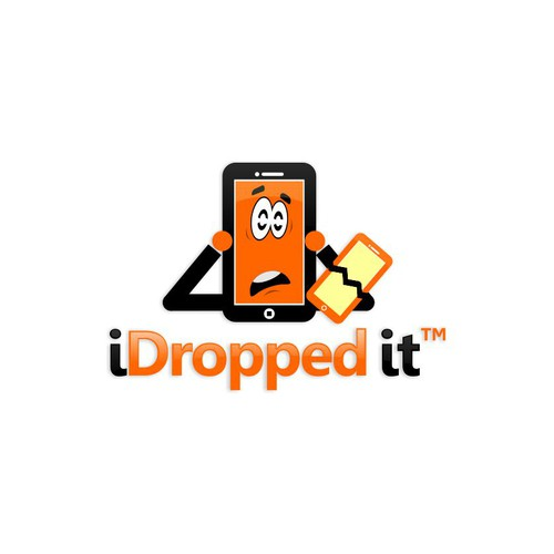 I dropped it Logo 2