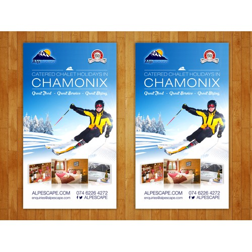 flyer design for alpescape