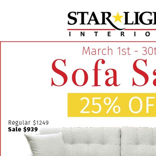 Sofa Sale Ad