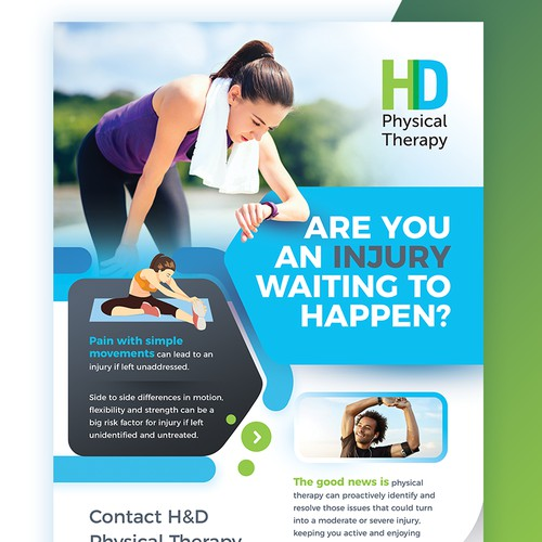 Physical Therapy - Flyer/Poster